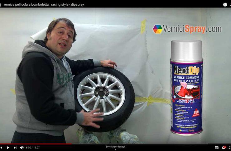 tutorial NextDip vernice spray protettiva